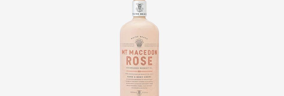Maine Beach 馬其頓山玫瑰手部&身體乳液