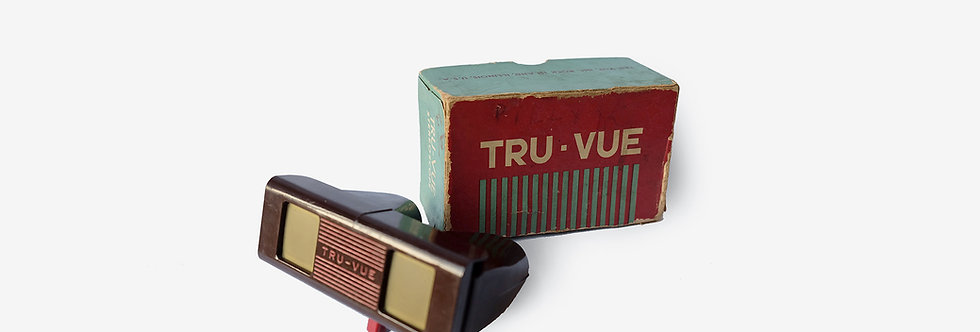 原盒美國Tru-Vue觀影器