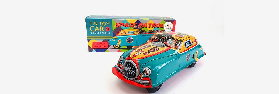 Saint John 鐵皮玩具 - 太空車