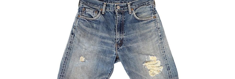 [Vintage] Levi's 牛仔短褲 (BIG E復刻版)