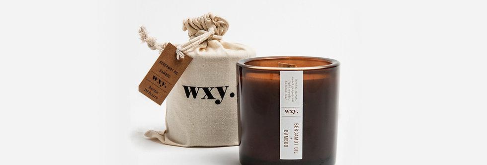 wxy. 竹與佛手柑油香氛蠟燭