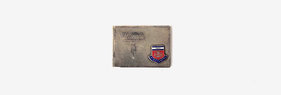 英國鍍銀郵票夾