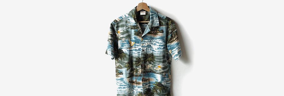 夏威夷製 ALOHA REPUBLIC 全棉襯衫