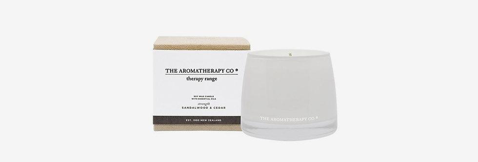 The Aromatherapy Co. 濃郁迷人蠟燭 - 雪松檀香