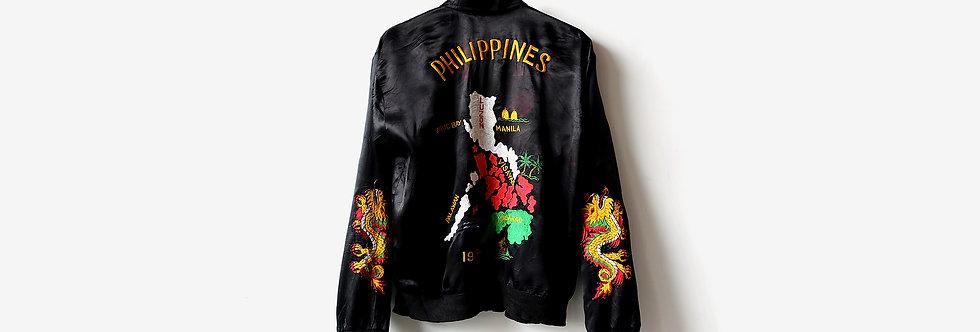 80年代菲律賓橫須賀紀念外套