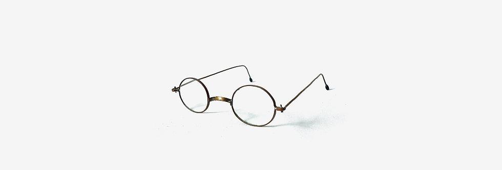 19世紀纜線腳古董眼鏡