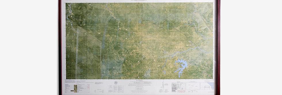 1965's 越戰美軍戰略地圖