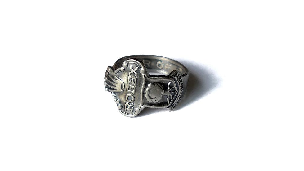 瑞士Rolex勞力士紀念湯匙戒指