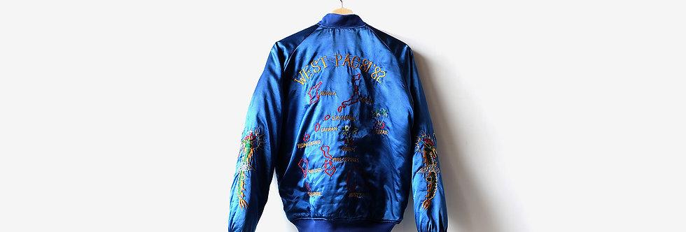 80年代西太平洋橫須賀紀念外套