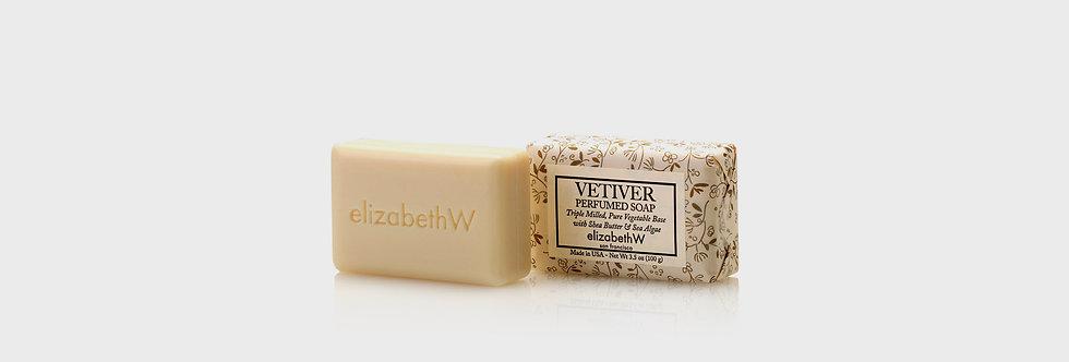 ElizabethW 香根草精油香皂 小