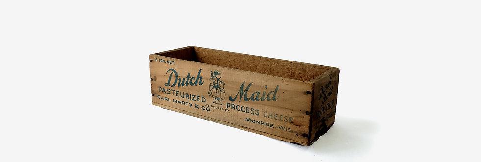美國起士骨董老木盒