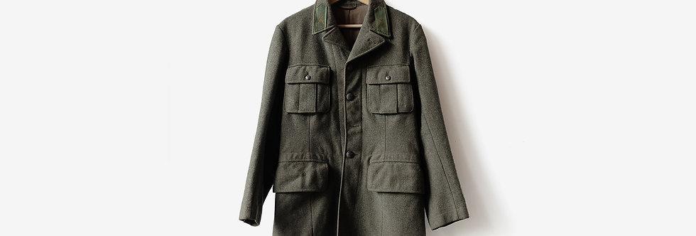 瑞典M39公發毛呢大衣