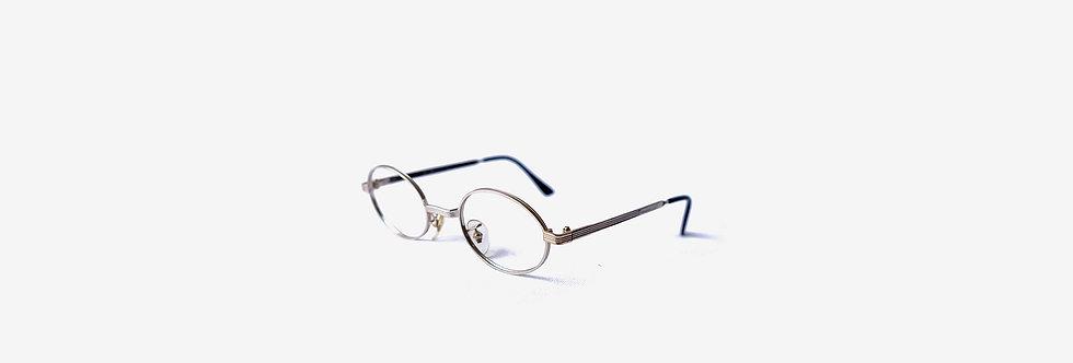 法國製金屬圓框眼鏡