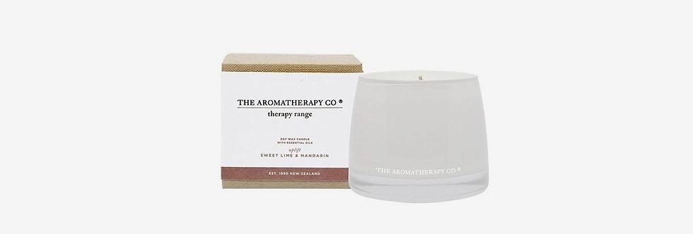 The Aromatherapy Co. 改善提昇蠟燭 - 萊姆柑橘