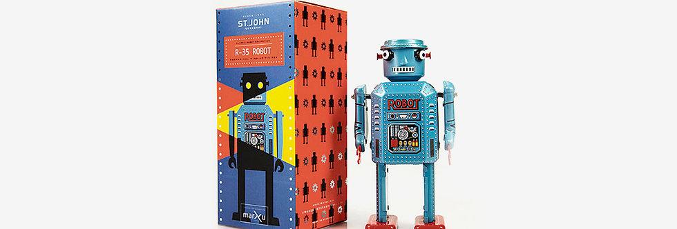 Saint John 鐵皮玩具 - R-35機器人