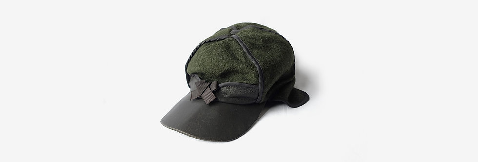 Wigens 瑞典製耳罩羊毛棒球帽