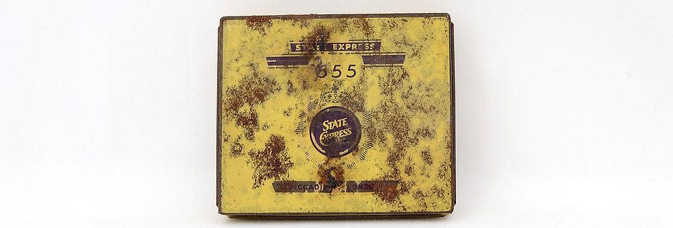 555 老菸鐵盒