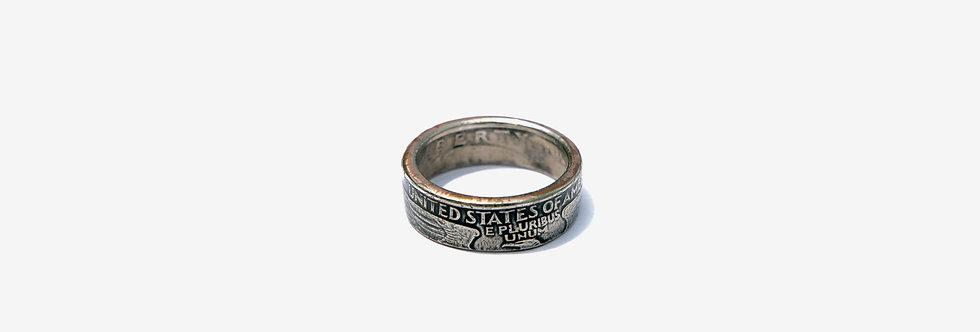 Story Crafts Co. 美國二十五分硬幣戒指