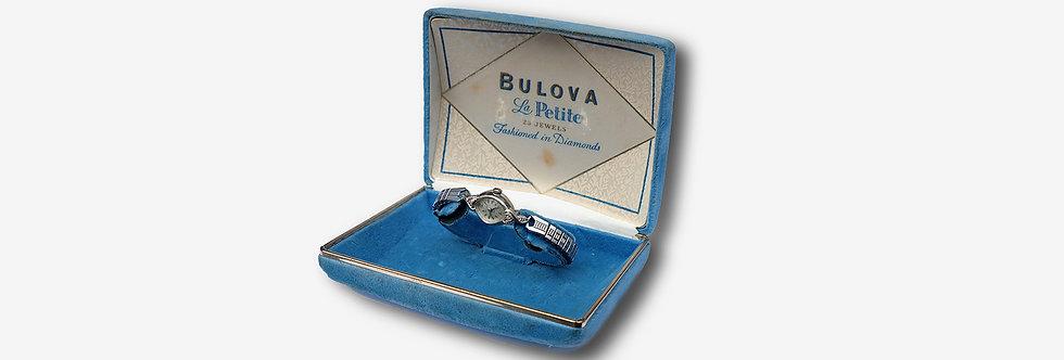 Bulova 寶路華La Petite女裝雞尾酒機械腕錶 - 含原廠外盒