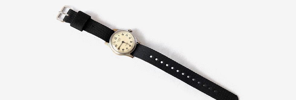 Delbana 瑞士製二戰軍用樣式機械腕錶