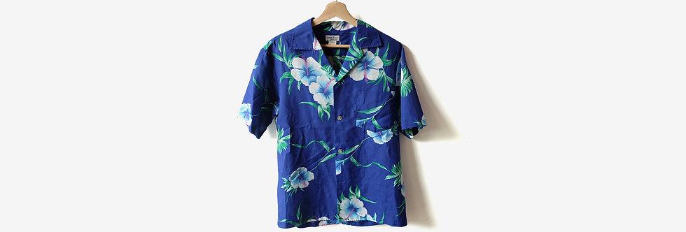 夏威夷製 SUNMARI FASHIONS 人造絲襯衫