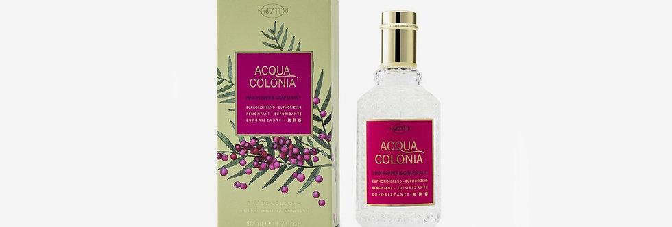 4711 ACQUA COLONIA 紅胡椒與葡萄柚古龍水