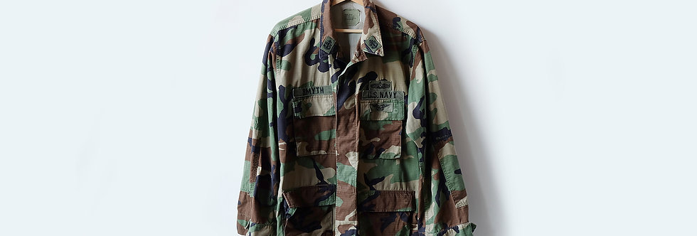 [Vintage]  美國海軍公發經典迷彩襯衫