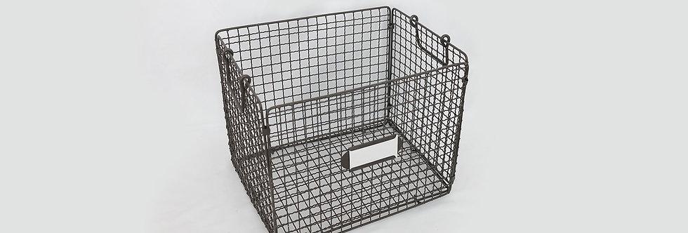 折疊式收納鐵籃