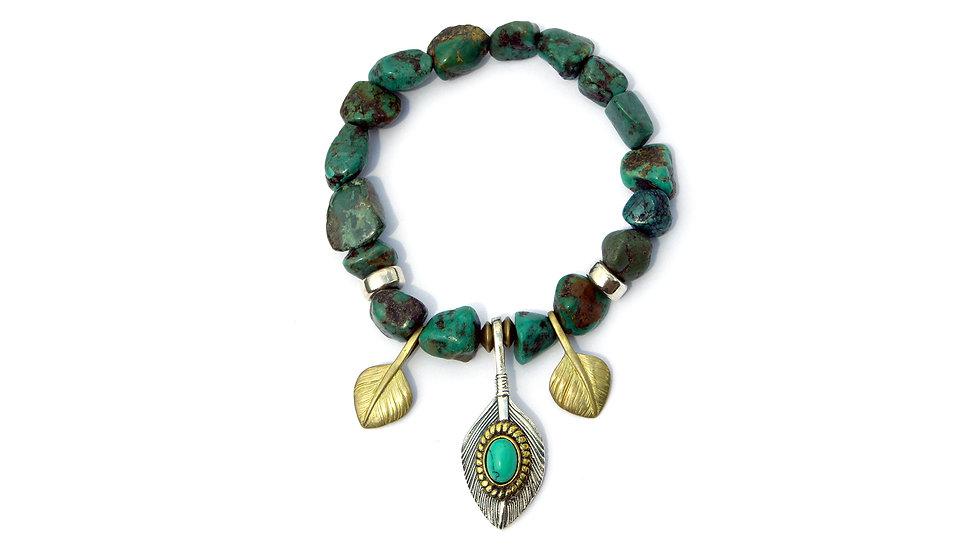 印加王松石珠串