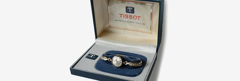 Tissot 天梭女裝機械腕錶 - 含原廠外盒