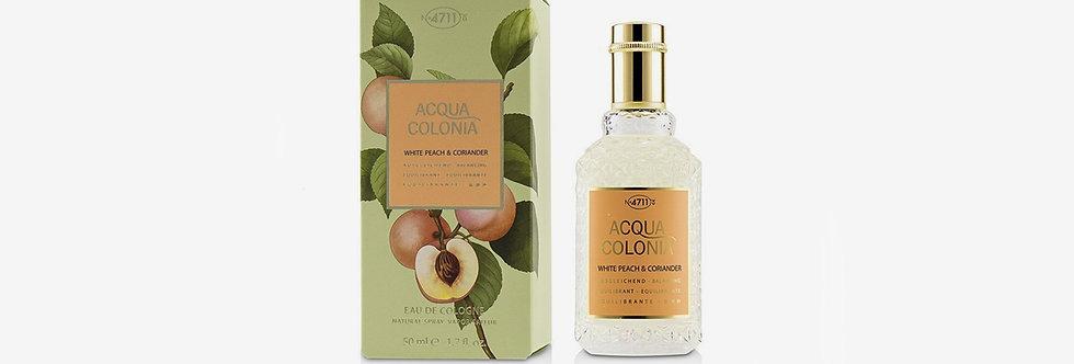 4711 ACQUA COLONIA 白桃與芫荽古龍水
