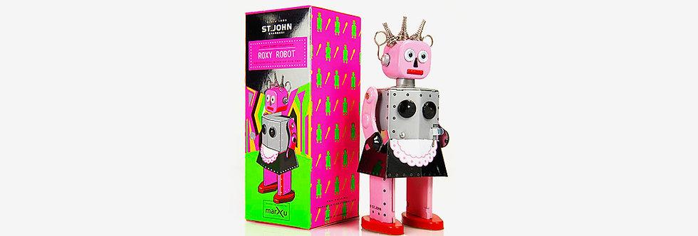 Saint John 鐵皮玩具 - 樂聲機器人