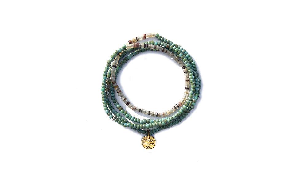 太平洋貝殻珠串
