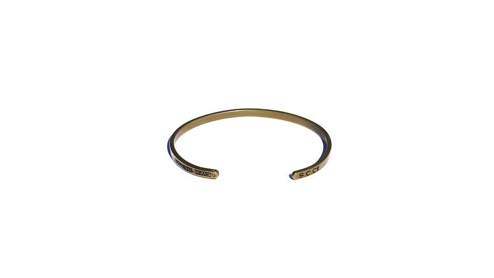 復古舊化黃銅手鐲