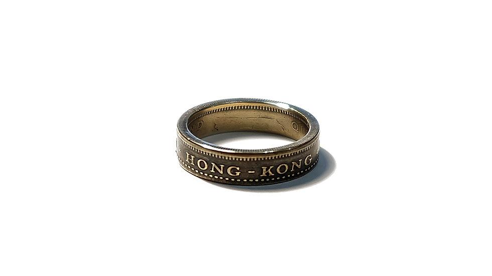 英屬香港伍毫硬幣戒指