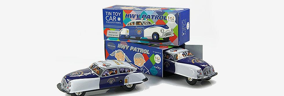 Saint John 鐵皮玩具 - 公路巡警車