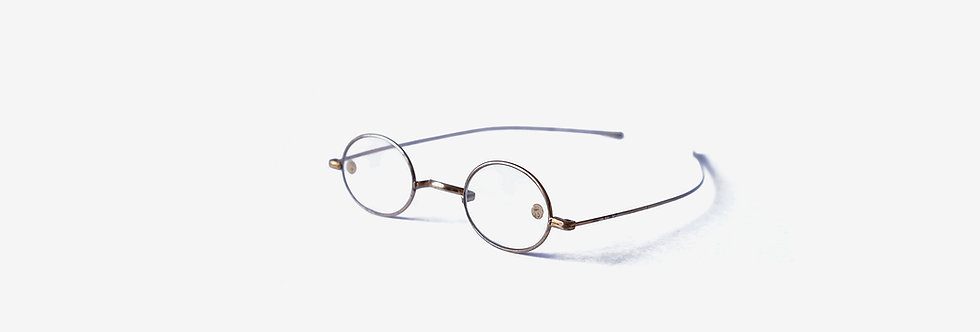 19世紀W橋直腳古董眼鏡