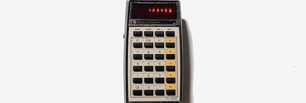 Texas Instruments 美國製LED液晶顯示計算機