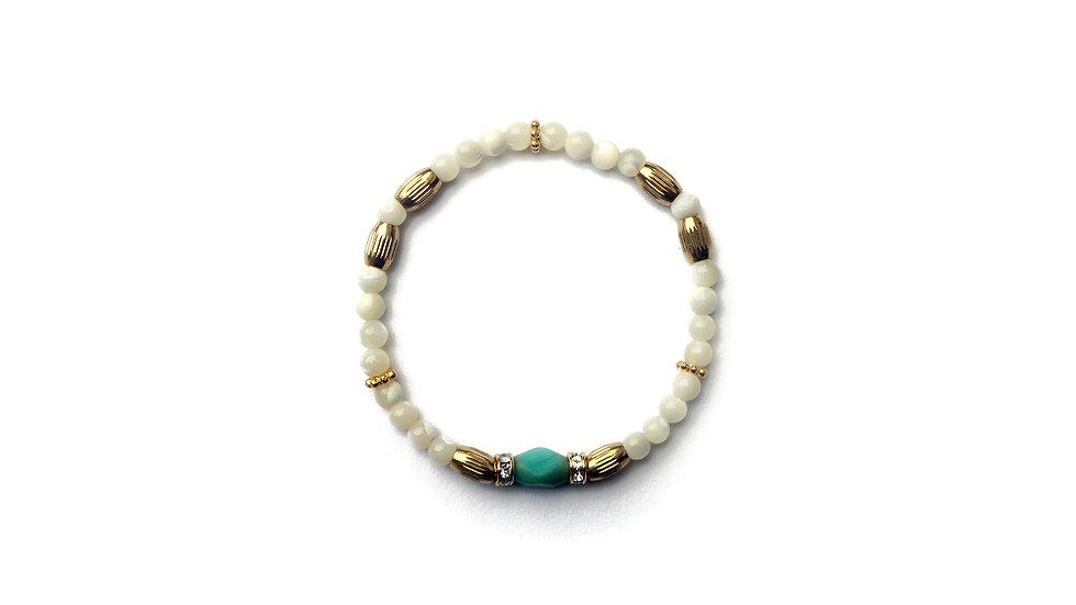 Isaiah Conch Bracelet [以賽亞貝殻珠串]