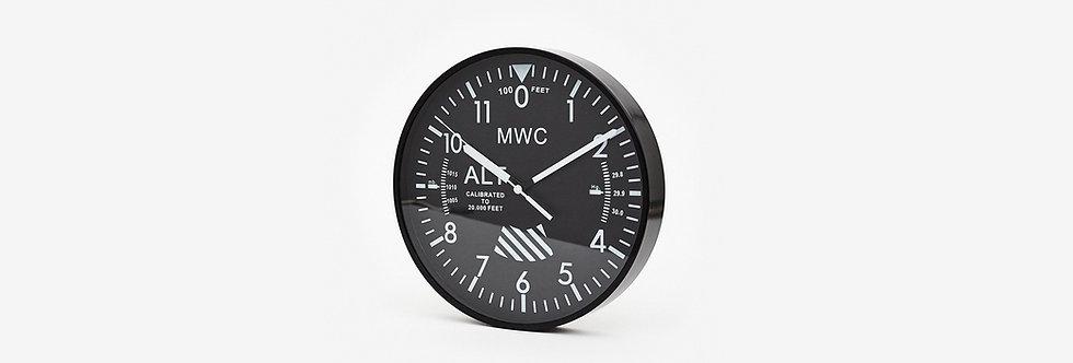 MWC 戰機高度計時鐘