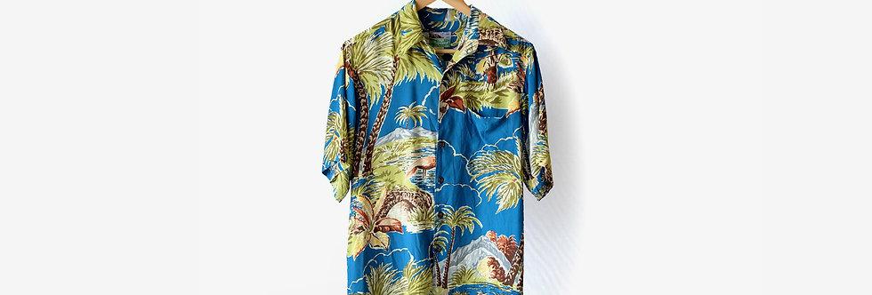 夏威夷製 Reyn Spooner 嫘縈襯衫
