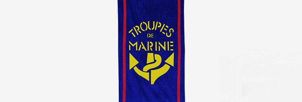 Troupes de marine 法國海軍浴巾
