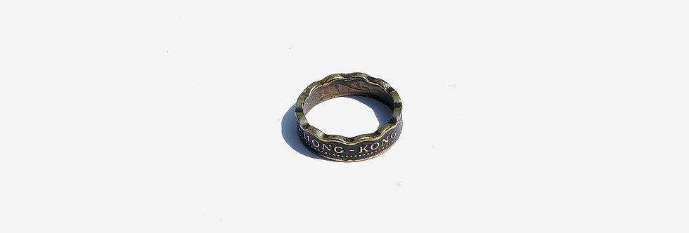 Story Crafts Co. 英屬香港兩毫硬幣戒指