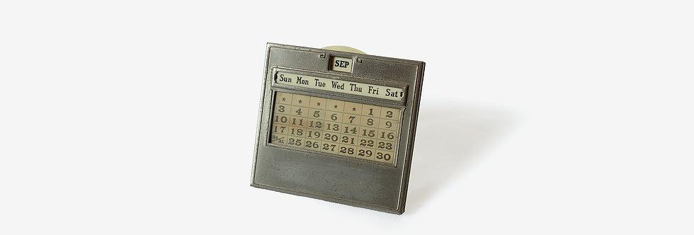 JEMCO 滑輪式金屬萬年曆