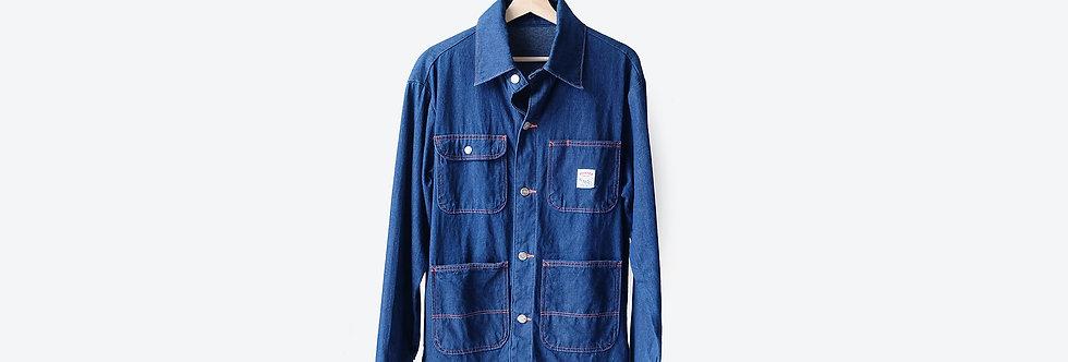 POINTER 美國製四口袋鐵道工裝外套