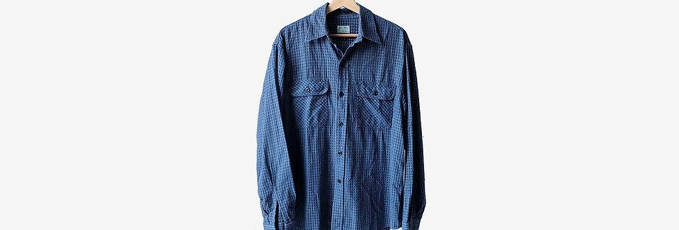 SUGAR CANE 日本製格紋襯衫