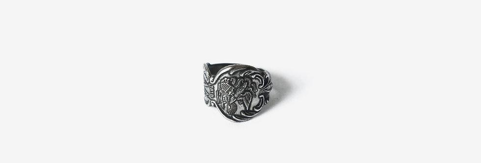 美國州份紀念匙戒指