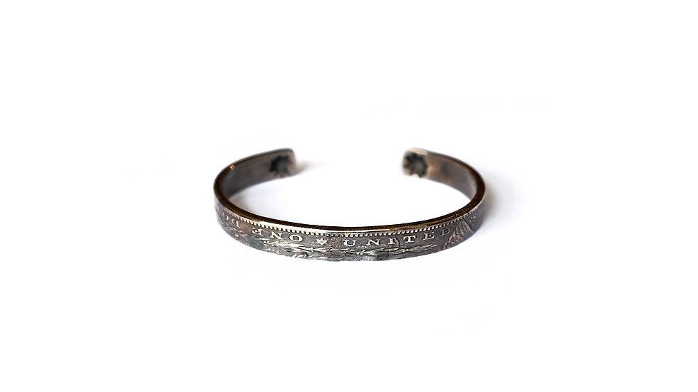 美國古銀元再製手環