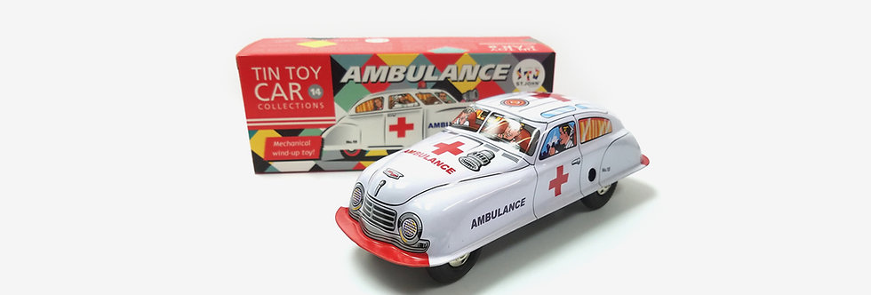 Saint John 鐵皮玩具 - 救護車