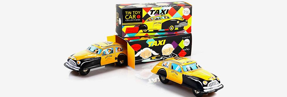 Saint John 鐵皮玩具 - 計程車